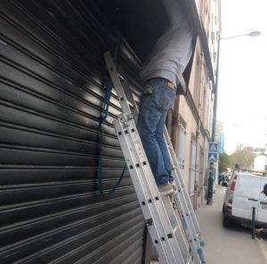 réparation de rideaux metalliques sur Groslay